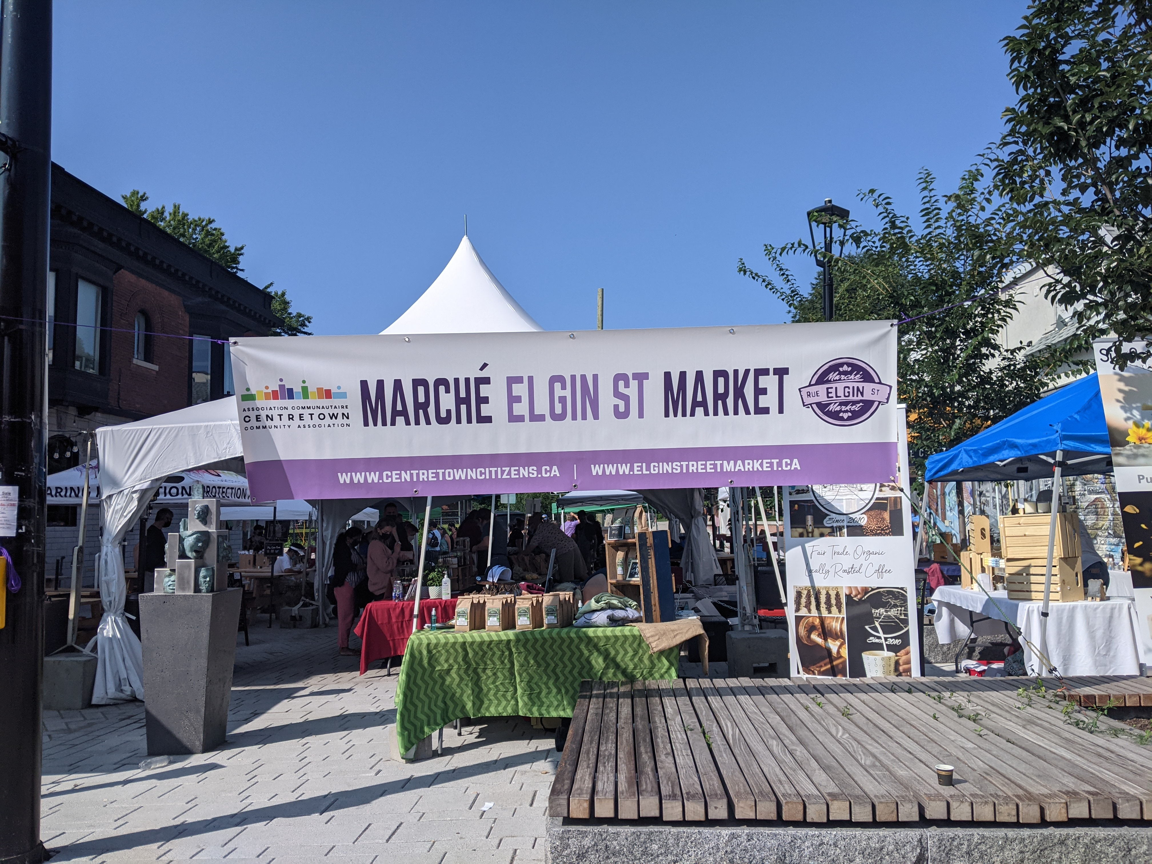 Community & collaboration – not just buzz words for Centretown's new Elgin Street Market
